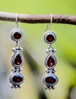 Garnet Earrings - E0544